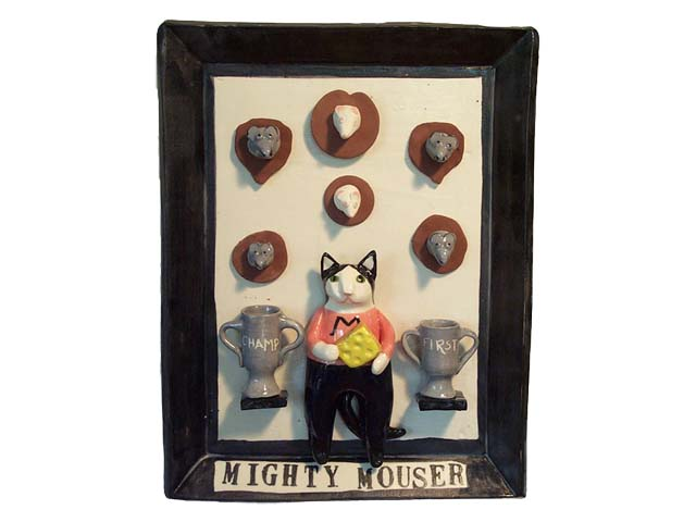 Mighty Mouser Plaque